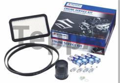 """Оригинальный Сервис-комплект Suzuki """"Двигатель""""(фильтры, свечи, ремень). Suzuki Grand Vitara Suzuki SX4"""