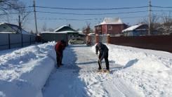Уборка снега, вывоз снега, услуги грузчиков
