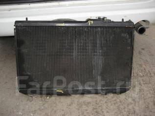 Радиатор охлаждения двигателя. Toyota Vista, CV40 Toyota Camry, CV40 Двигатель 3CT