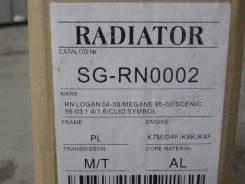 Радиатор охлаждения двигателя. Renault: Symbol, Megane, Scenic, Clio, Logan