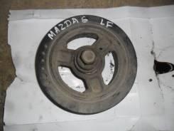 Шкив коленвала. Mazda Mazda6, GH, GG, GJ, GY Двигатели: LFDE, MZRDISI, MZR, LF17, LFF7, LF