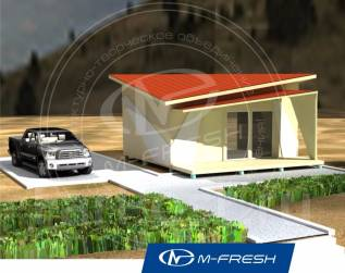 M-fresh Breeze (Покупайте сейчас со скидкой 20%! Узнайте! ). до 100 кв. м., 1 этаж, 1 комната, каркас