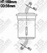Фильтр топливный. Mazda Savanna RX-7, FC3C, FC3S