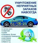 Озонирование автомобиля с полным удалением любого запаха