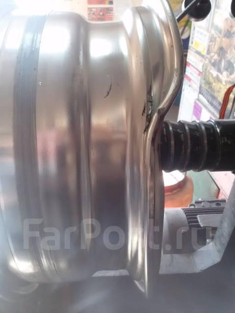 Ремонт (правка, прокатка) литых дисков RaW-service