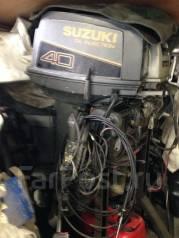 Suzuki. 39,00л.с., 2х тактный, бензин, нога S (381 мм), Год: 1999 год. Под заказ
