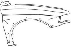 Крыло. Mitsubishi Pajero Sport Mitsubishi Montero Sport