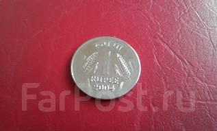 Индия. 1 рупия 2004 года.