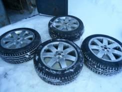 Продаю колеса в хорошем состоянии, диски р20, резина continental cross. 9.5x50 5x120.00 ET-50 ЦО 72,6мм.