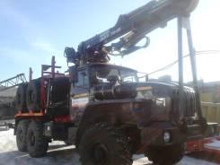 Урал 55571. Лесовоз -70 с гидроманипулятором ОМТЛ-70.02. Купить. Новый, 9 495 куб. см., 12 000 кг.