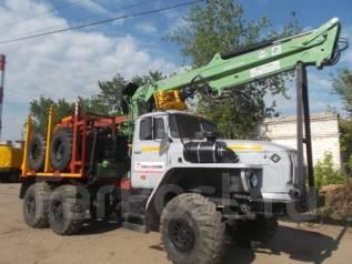 Урал 55571. Лесовоз -70 с гидроманипулятором Атлант-90, 9 500 куб. см., 11 999 кг.