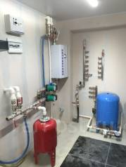 Монтаж системы отопления, водоснабжения, канализации, дренаж, септики