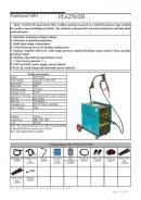 Полуавтоматический сварочный аппарат PL6250 220в