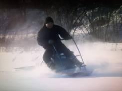 """Мотобуксировщик, буксировщик """"Север-СК"""" с лыжным модулем, 88000"""