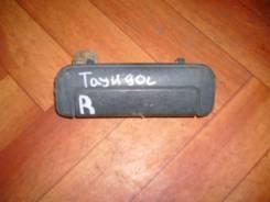 Ручка двери внешняя. Toyota Town Ace, CR30G Двигатель 2CT