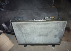 Радиатор охлаждения двигателя. Toyota Gaia, SXM10G Двигатель 3SFE