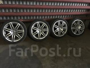 Диски с резиной r19 Audi. 8.0x19 5x112.00 ET42 ЦО 57,1мм.