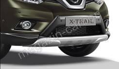 Защита бампера. Nissan X-Trail