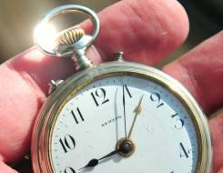 Карманные часы - будильник Seraph, Швейцария. Прикоснись к истории. Оригинал
