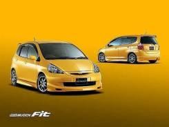 Обвес кузова аэродинамический. Honda Fit, GD4, GD3, GD2, GD1
