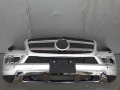 Передний бампер на мерседес бенз GL450 X166