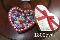 Торт из киндеров. Сладкий подарок на день святого валентина 14 февраля. Под заказ