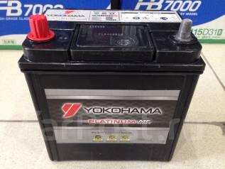 Yokohama Batteries. 40А.ч., Прямая (правое), производство Япония. Под заказ