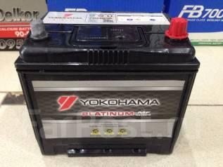 Yokohama Batteries. 65 А.ч., Обратная (левое), производство Япония