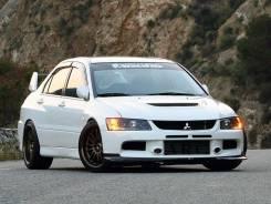 Накладка на бампер. Mitsubishi Lancer Evolution, CT9W, CT9A Mitsubishi Lancer Evolution Wagon, CT9W, CT9A Mitsubishi Lancer, CT9A, CT9W