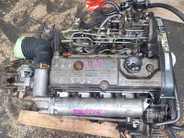 Двигатель в сборе. Mitsubishi: RVR, Galant, Chariot, Lancer, Mirage, Libero, Eterna, Emeraude, Colt Двигатели: 4D68, 4D68T