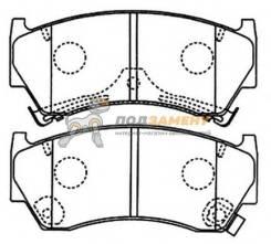 Колодки тормозные дисковые передние AKYOTO / AKD-1289. Гарантия 6 мес