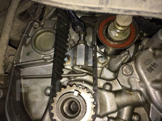 Натяжитель ремня ГРМ. Honda Accord, CF4, CH9, CL1 Двигатели: F20B, F20B1, F20B2, F20B3, F20B4, F20B5, F20B6, F20B7, H22A, H22A1, H22A7, H23A, H23A3