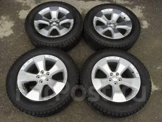 Литье Subaru 5x100R17 и зимняя резина Dunlop 215/60R17. 7.0x17 5x100.00 ET48 ЦО 56,0мм.
