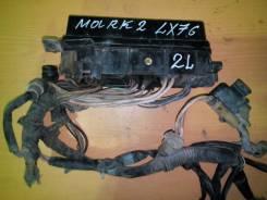Блок предохранителей. Toyota Mark II, LX76, LX70 Двигатели: 2L, 2LT, 2L 2LT