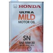 Honda. Вязкость 10w30, гидрокрекинговое