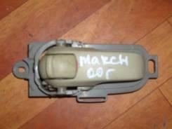 Ручка двери внутренняя. Nissan March, AK12 Двигатель CR12DE
