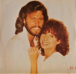 Винил Барбара Стрейзанд и Барри Гибб - Guilty - Holland LP 1980