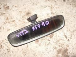 Зеркало заднего вида боковое. Toyota Vitz, KSP90 Двигатель 1KRFE