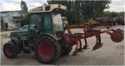 Fendt. Трактор 207 VA + культиватор GardBio2000