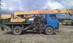 МАЗ 5337 КС 35772 , 1989. Продается автокран, 11 150 куб. см., 14 м.