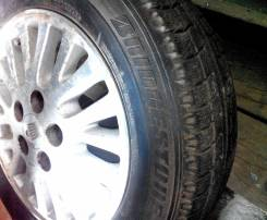Литьё Toyota Crown с резиной 205/65R15 Bridgestone Blizzak MZ02
