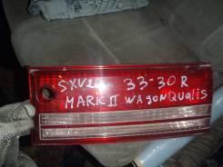 Продам правый стоп крышки багажника Toyota Mark2 Wagon Qualis SXV20. Toyota Mark II Wagon Qualis, SXV20, SXV20W Toyota Mark II