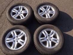 Диски R17 + Шины б/у Nokian Nordman SUV 235/65 в наличии !. 7.0x17 5x114.30 ET41 ЦО 65,1мм.