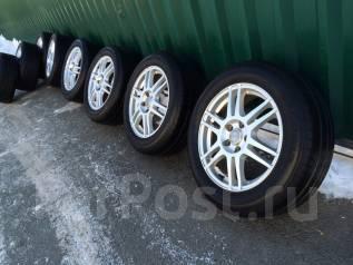 Комплект красивых колес R17+лето Bridgestone 215/60/17 2014г, отправка. 7.0x17 5x114.30 ET53