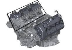 Головка блока цилиндров. BMW X5, E70 Двигатель N62B48B
