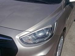 Накладка на фару. Hyundai Accent. Под заказ
