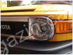 Накладка на фару. Toyota FJ Cruiser
