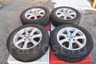 Диски Eurospeed+шины Dunlop DSX 215/60R16! Бесплатно до ТК! поз 8-115. 6.5x16 5x114.30 ET53