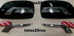Накладка на зеркало. Toyota Land Cruiser Prado, GDJ150W, GRJ150L, GDJ151W, KDJ150L, GRJ150W, GRJ151W, TRJ150W