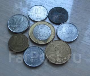 Бразилия. ходячка - 8 монет.